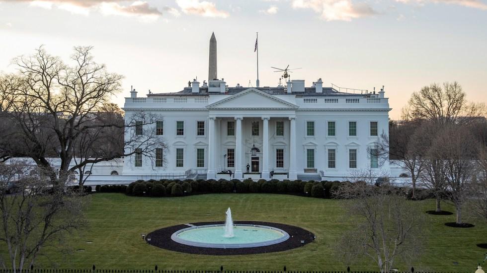 AMLO y Biden acuerdan reducir migración ilegal y coordinar acciones ante la pandemia, confirma Casa Blanca - Casa Blanca de EE.UU. Foto de EFE