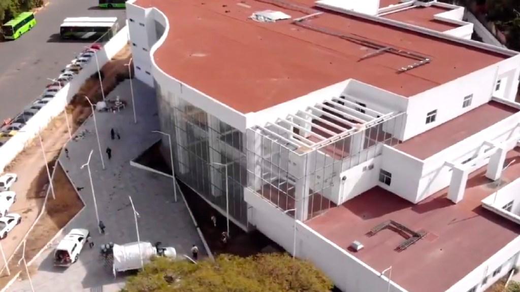 Ciudad de México abrirá hospital emergente en la Gustavo A. Madero para atender COVID-19 - CDMX abrirá hospital emergente en la Gustavo A. Madero para atender casos por COVID-19. Foto Captura de pantalla