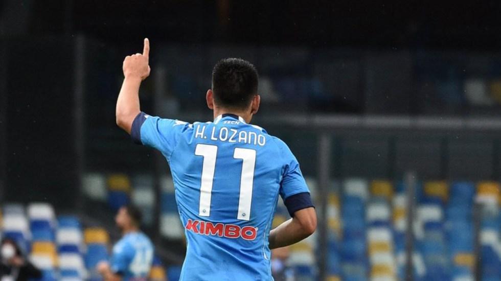 #Video 'Chucky' Lozano anota gol a los 9 segundos, el más rápido de la historia del Napoli - Chucky Lozano. Foto de @sscnapoliES