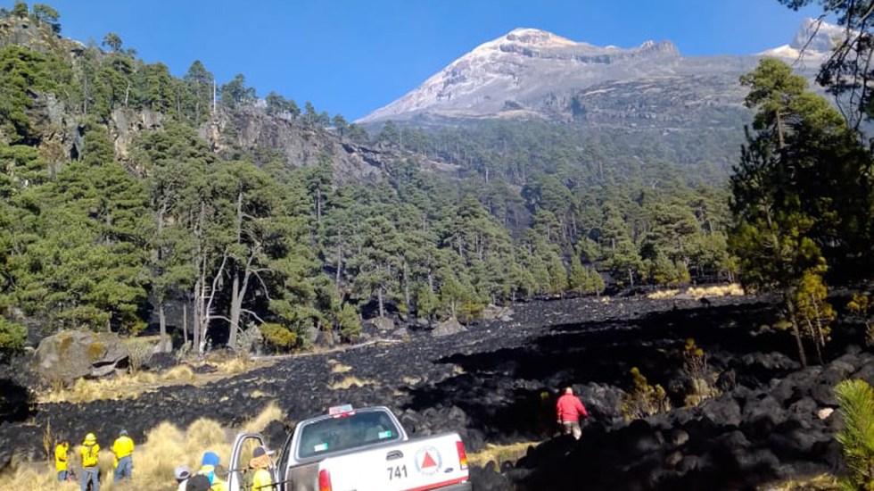 Controlan al 100 por ciento incendio en Parque Izta-Popo - Control de incendio en Parque Izta-Popo. Foto de @gabrielmena07