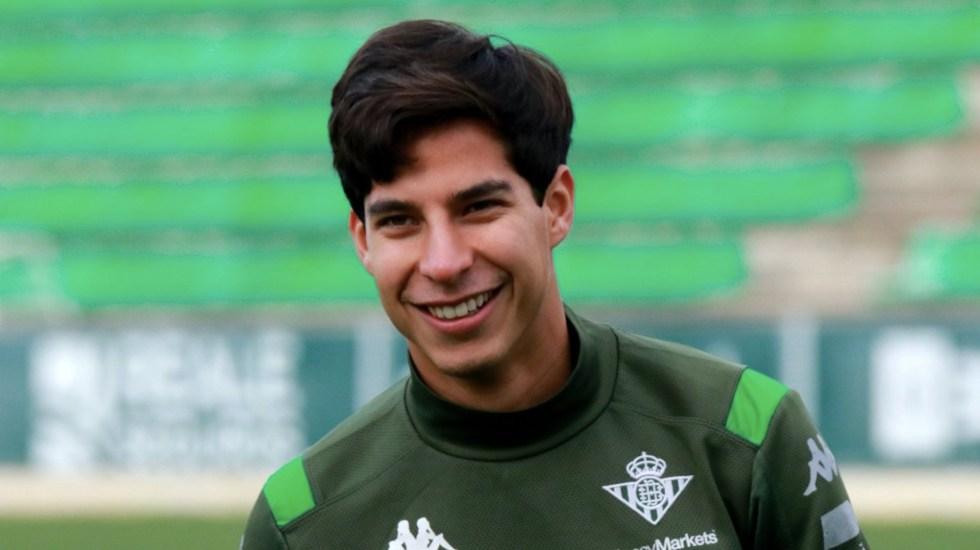 Diego Lainez da positivo a COVID-19; tiene síntomas leves y se mantendrá aislado - Foto de Betis
