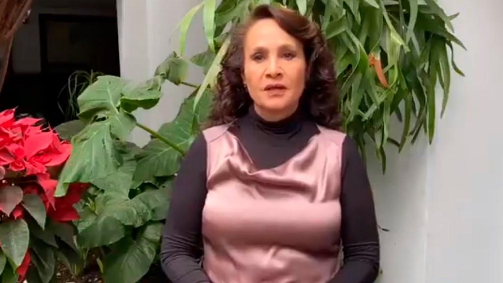 Dolores Padierna contenderá por candidatura de Morena en alcaldía Cuauhtémoc - Dolores Padierna presentará candidatura por Morena a la Alcaldía Cuauhtémoc. Foto Captura de pantalla