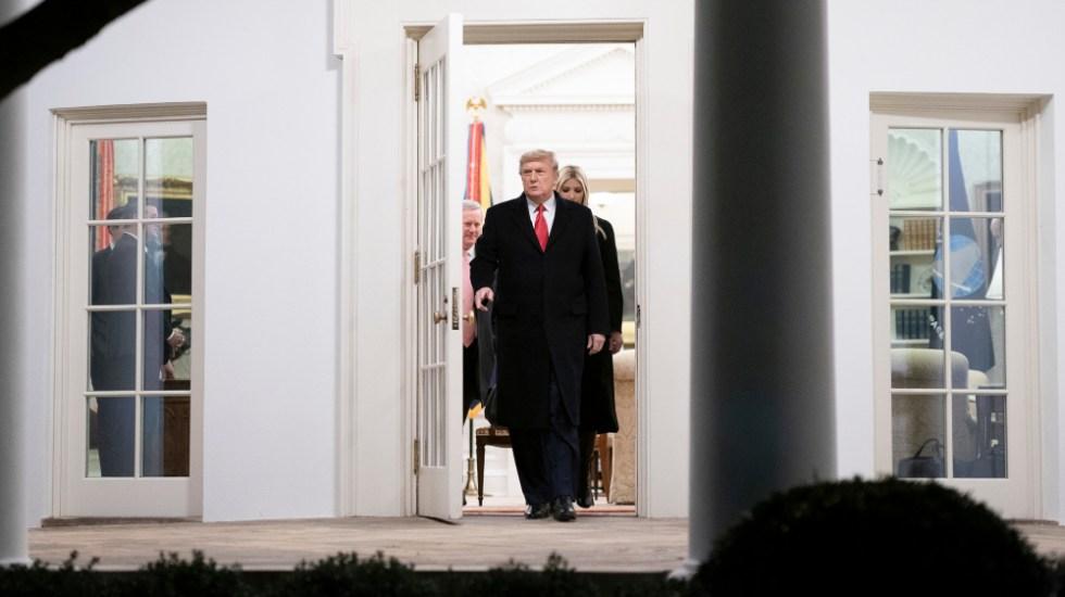 Demócratas planean presentar artículos de juicio político contra Trump el lunes - Foto de The White House