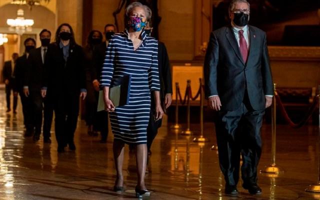 El Senado de Estados Unidos recibe artículo de 'Impeachment' contra Donald Trump - El Senado de Estados Unidos recibe artículo de 'Impeachment' contra Donald Trump. Foto EFE
