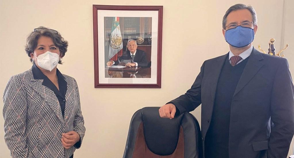 Inicia proceso de transición en la Secretaría de Educación Pública - Esteban Moctezuma y Delfina Gómez