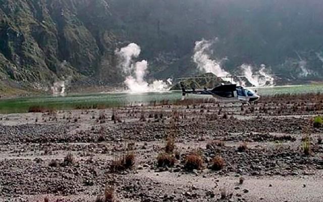 Expertos estudian actividad sísmica del volcán Chichonal en Chiapas - Expertos estudian actividad sísmica del volcán Chichonal en el estado de Chiapas. Foto EFE