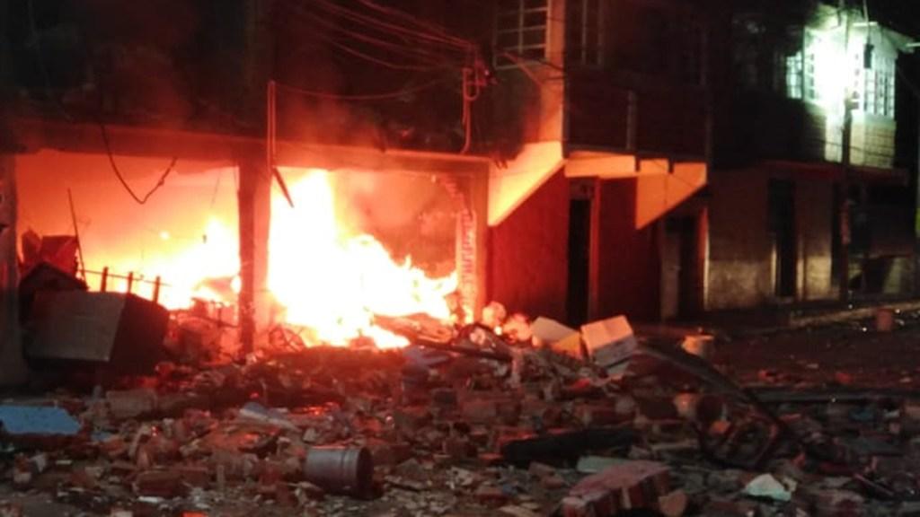 #Video Acumulación de gas causa explosión en Ixtapaluca - Explosión en vivienda de Ixtapaluca. Foto de PC Ixtapaluca