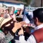 FRENAAA protesta en Nuevo León durante visita de López Obrador - FRENAAA protesta en Nuevo León durante visita de López Obrador. Foto Captura de pantalla