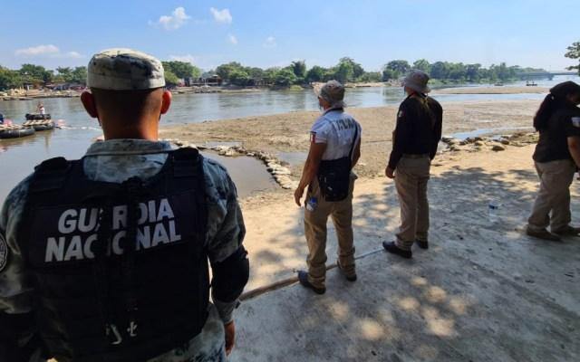 México vigila su frontera sur ante posible arribo de migrantes desde Honduras - Foto de INM