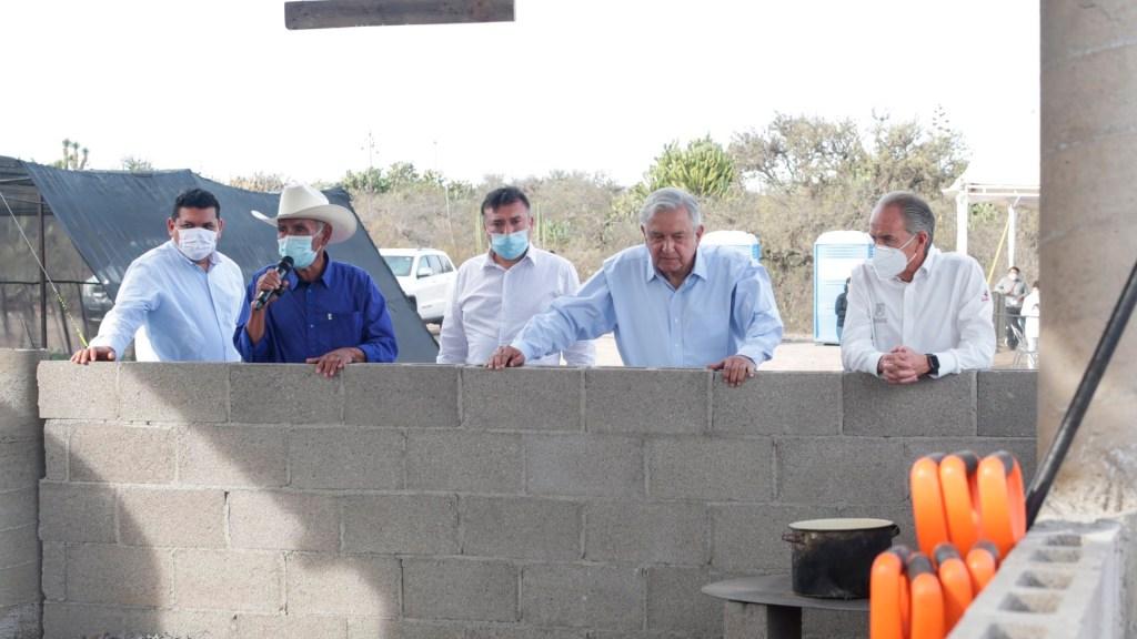 Funcionarios dan positivo a COVID-19 tras visita de AMLO a San Luis Potosí - Funcionarios civil y militar dan positivo a COVID-19 durante visita de AMLO a SLP. Foto Twitter @JMCarrerasGob