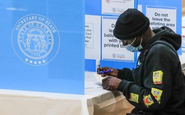 Georgia decide el control del Senado de EE.UU. en unas elecciones ajustadas - Foto de EFE