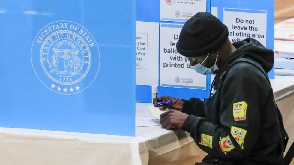 Se inicia la votación en Georgia por dos puestos en el Senado de EE.UU. - Foto de EFE