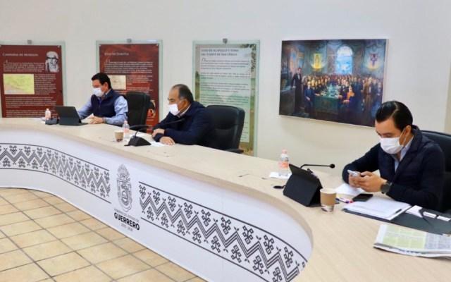 Acuerdan en Guerrero reforzar acciones de seguridad y medidas sanitarias contra COVID-19 - Foto de @HectorAstudillo