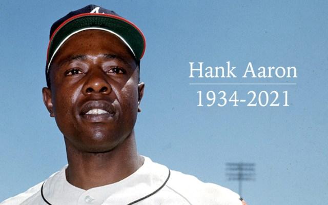 Murió el legendario beisbolista Hank Aaron a los 86 años de edad - Foto de MLB