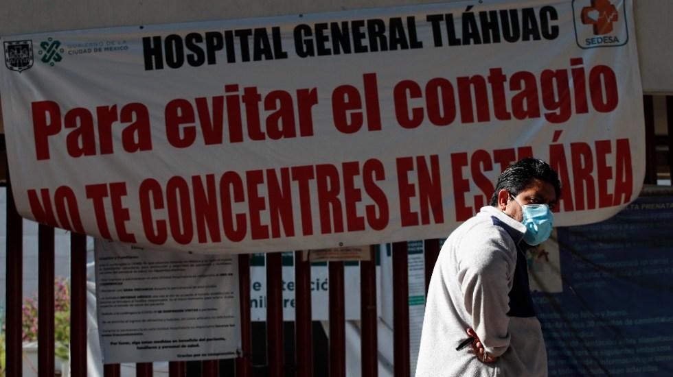 CDMX incrementó su capacidad hospitalaria para atender COVID-19 en 38% - Foto de EFE