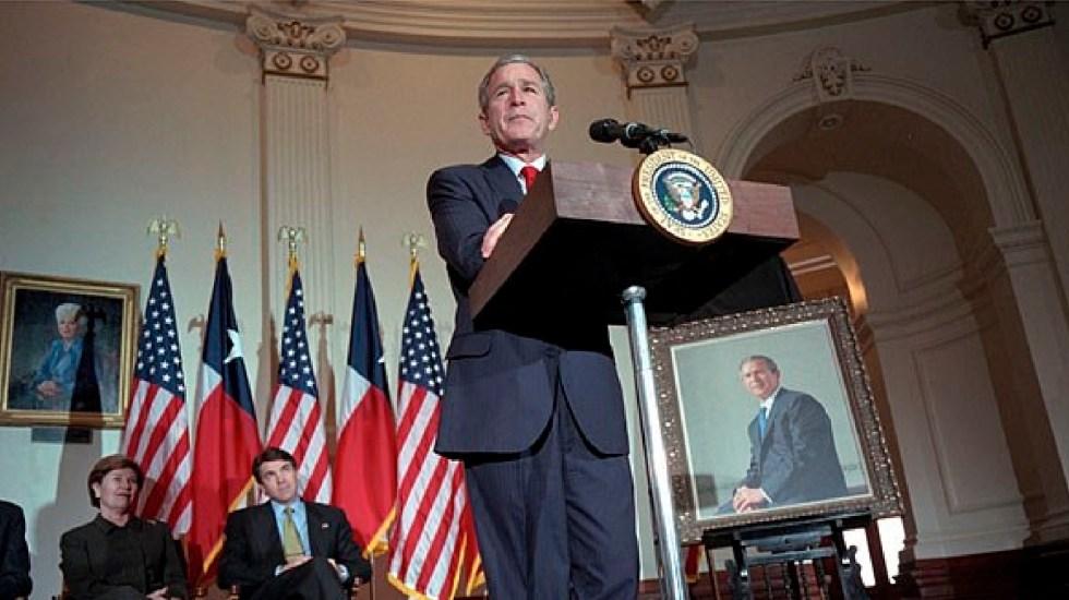 """Asalto a Capitolio, propio de una """"república bananera"""", critica George W. Bush - Imágenes de asalto a Capitolio propias de una república bananera, condena George W. Bush. Foto Facebook George W. Bush Presidential Library"""