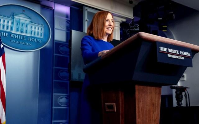 "Nueva portavoz de la Casa Blanca garantiza transparencia y ""respeto profundo"" a la prensa - Jen Psaki Secretaria Prensa Casa Blanca"