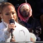 #Video Jennifer Lopez recita el juramento de lealtad en español en la investidura de Joe Biden