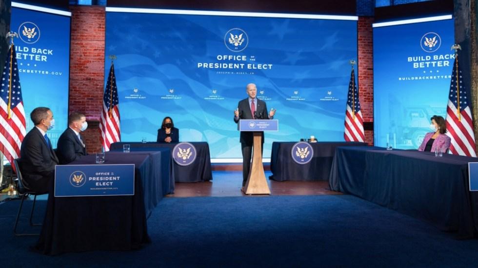 Biden asegura que no tiene miedo de jurar su cargo al aire libre el día 20 - Foto de Twitter Joe Biden