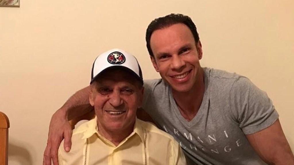 Murió José Alves 'Lobo Solitario', padre de Zague - José Alves con Zague. Foto de @lrzague