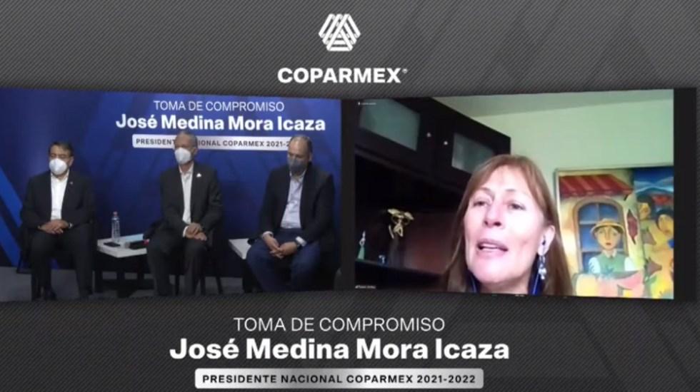 Coparmex y gobierno federal prometen diálogo con nuevos liderazgos - Foto de @SE_mx