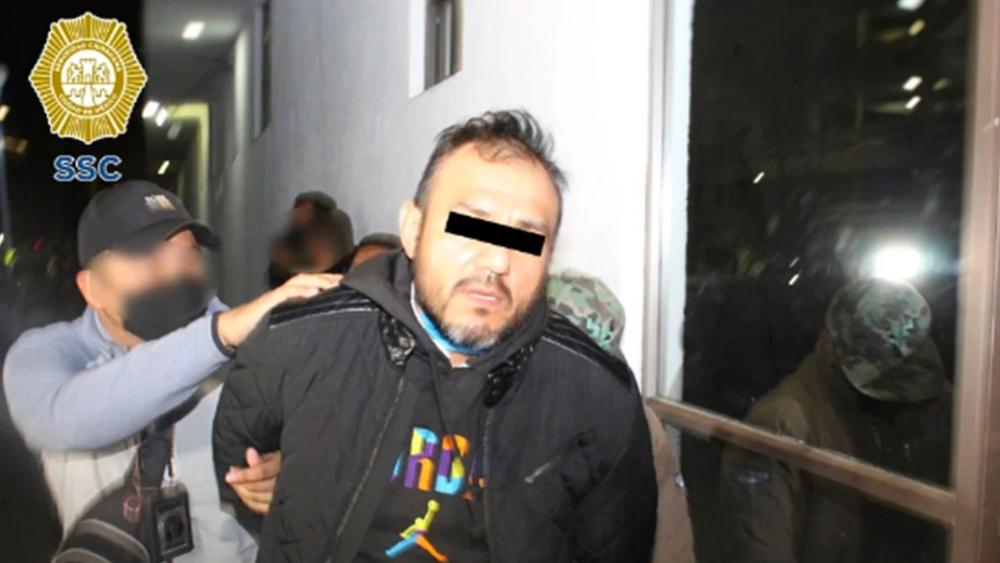 Detienen a 'El Pipis', presunto extorsionador de La Unión Tepito - Foto de SSC CDMX