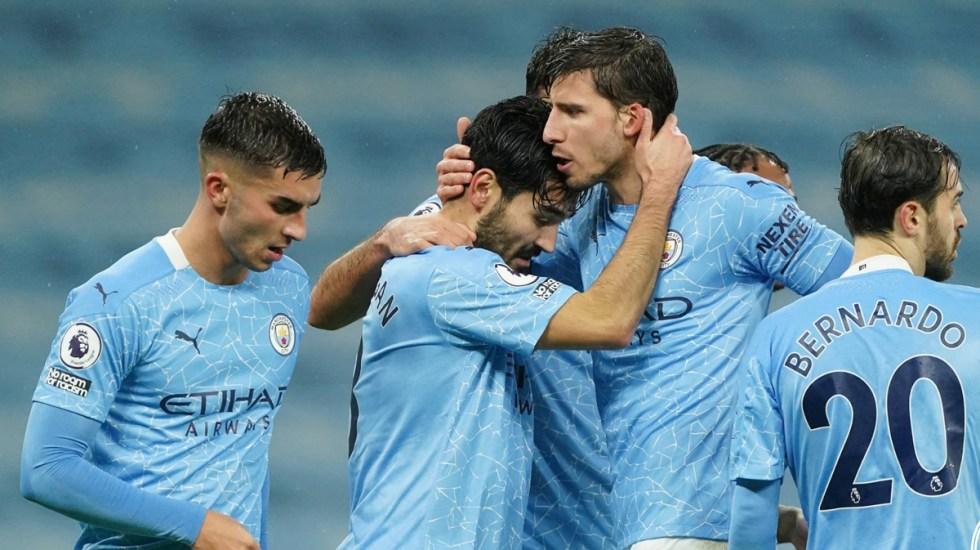 Brote de COVID-19 en el Manchester City; hay cinco jugadores contagiados - Jugadores del Manchester City. Foto de @ManCityES