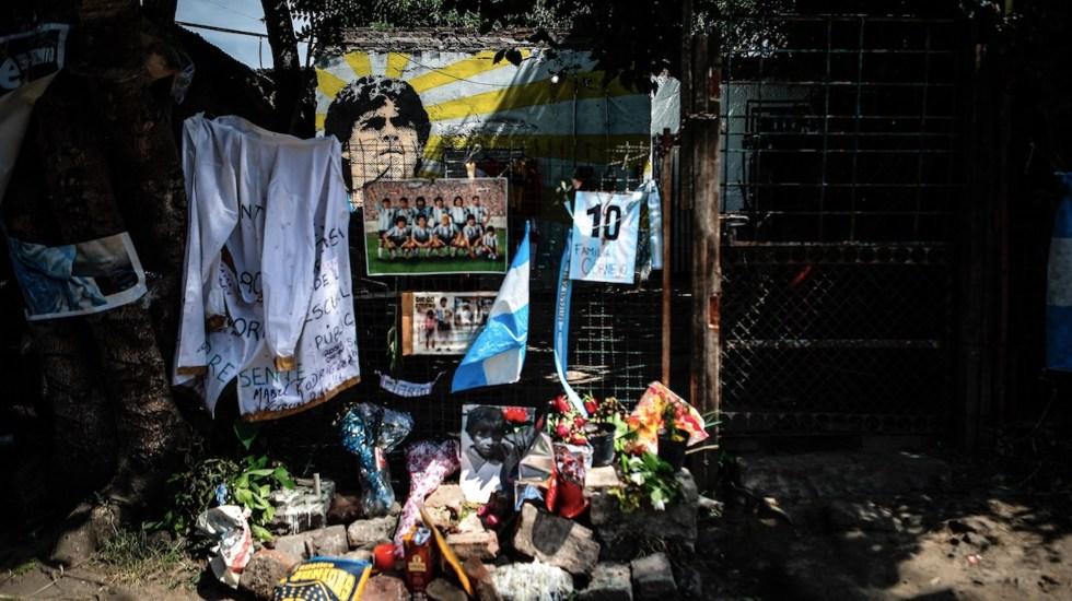 Herencia de Maradona incluye una casa en La Habana con objetos del astro del futbol - Foto de EFE