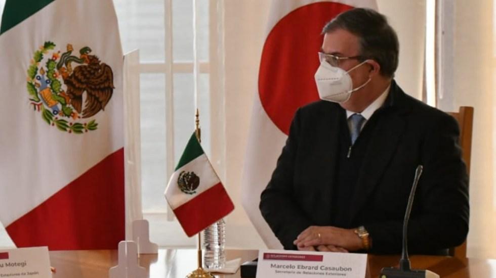 Dependencia de México a otras naciones provoca dificultades y retrasos en vacunas, advierte Ebrard - El canciller Marcelo Ebrard. Foto de @m_ebrard