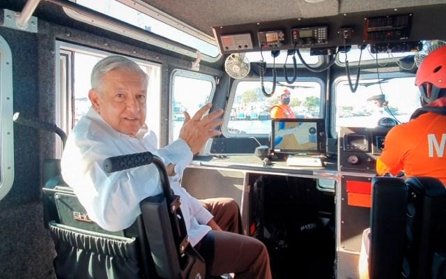 Marina a cargo de puertos por seguridad nacional, asegura López Obrador - Marina a cargo de puertos por seguridad nacional, señala López Obrador. Foto https://presidente.gob.mx/