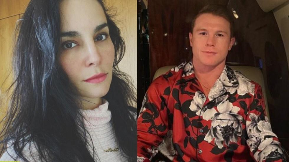 """""""Pensé que era narco"""", cuenta Martha Higareda cómo conoció al 'Canelo' Álvarez - Martha Higareda y Saúl Canelo Álvarez"""