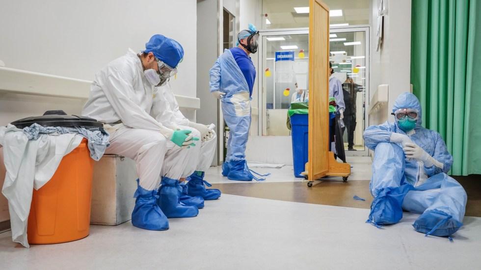 Cuatro millones de profesionales de la Salud se infectaron de COVID-19 en el mundo - médicos sanitarios sector salud