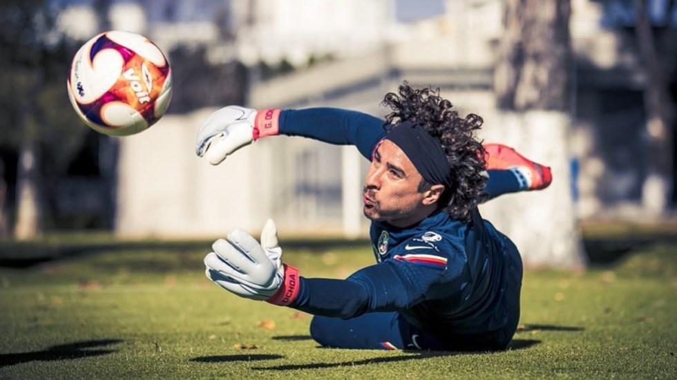 Memo Ochoa, uno de los tres jugadores del América con COVID-19 - Guillermo Ochoa. Foto de @1.G.Ochoa