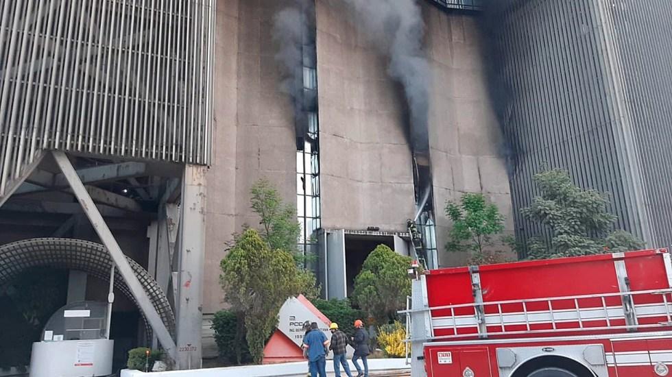 Abre Fiscalía capitalina dos carpetas de investigación tras incendio en instalaciones del Metro - Foto de EFE