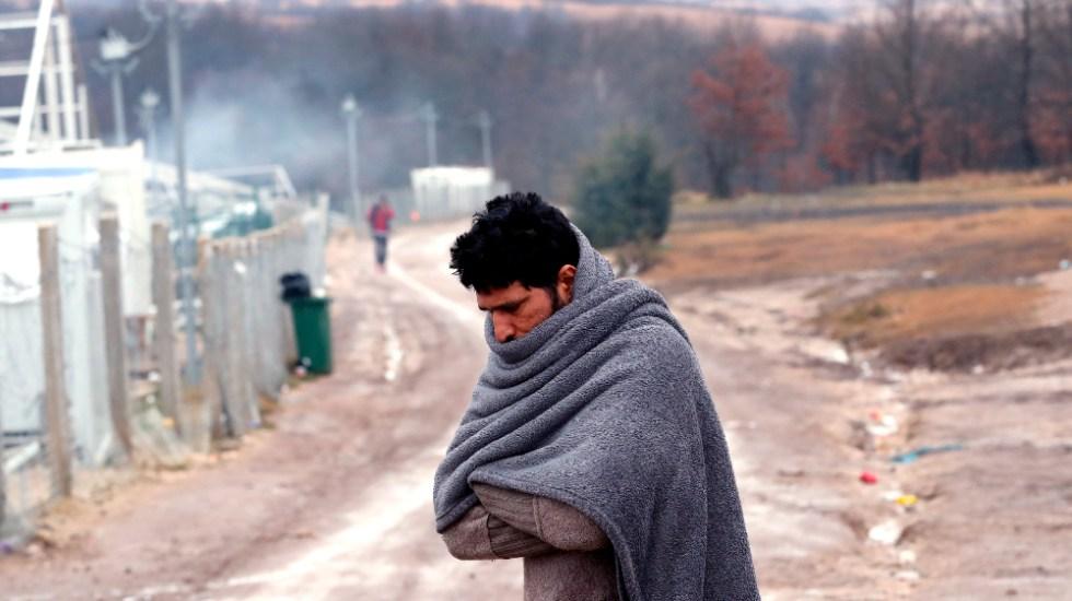 Cientos de migrantes en Bosnia en huelga de hambre para denunciar su abandono - Foto de EFE