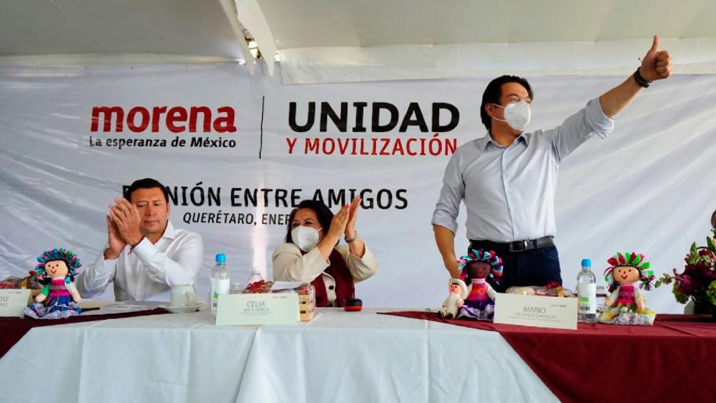 Morena denuncia censura del INE por retiro de tres anuncios - Morena denuncia censura del INE por retiro de tres anuncios. Foto Twitter @PartidoMorenaMx