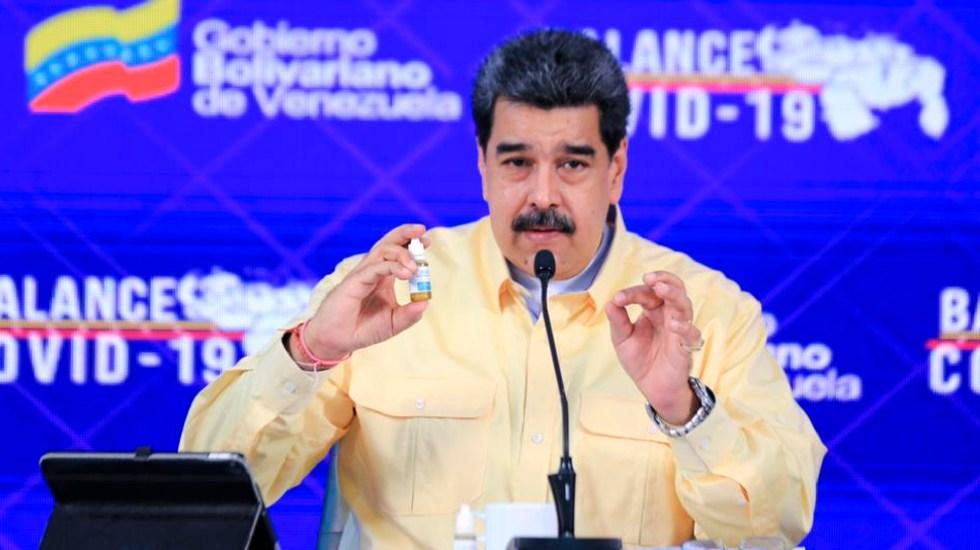 """Nicolás Maduro presenta gotas """"milagrosas"""" que """"neutralizan"""" totalmente el COVID-19 - Nicolás Maduro presenta gotas"""