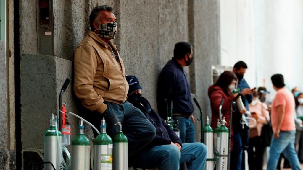 Sobreprecio de 20 por ciento en oxígeno está dentro del margen de ley, asegura López-Gatell - Foto de EFE