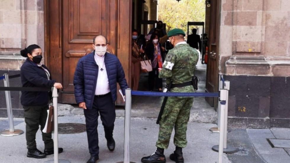 Padre Solalinde visita Palacio Nacional; asegura que no se reunió con López Obrador - Foto de Radio Fórmula