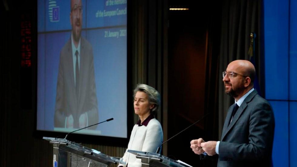 Unión Europea podría restringir viajes por pandemia del COVID-19 - Países de la Unión Europea podrán restringir viajes por pandemia del COVID-19. Foto Twitter @eucopresident