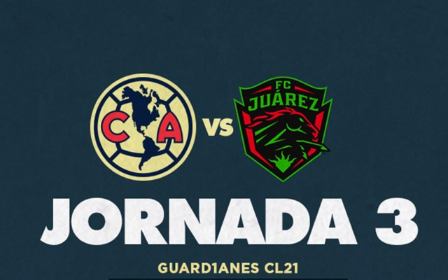 Reprograman hasta febrero partido del América vs FC Juárez - Partido entre América y FC Juárez. Foto de @ClubAmerica