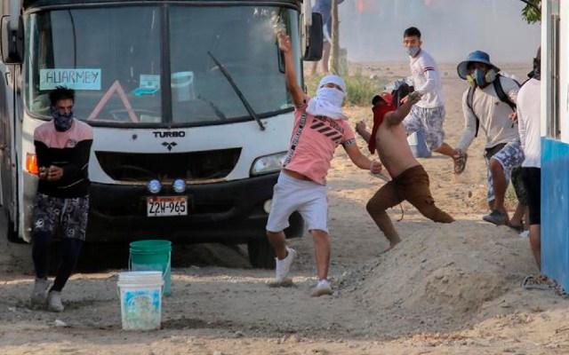 Personas que murieron en protestas de trabajadores agrícolas en Perú recibieron disparos de armas de fuego - Personas que murieron en protestas de trabajadores agrícolas en Perú recibieron disparos de armas de fuego. Foto EFE