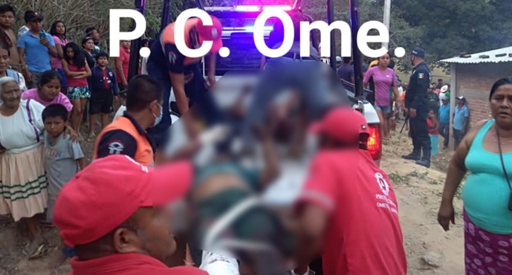 Explosión de polvorín deja tres heridos en Ometepec, Guerrero - Foto de Protección Civil Ometepec