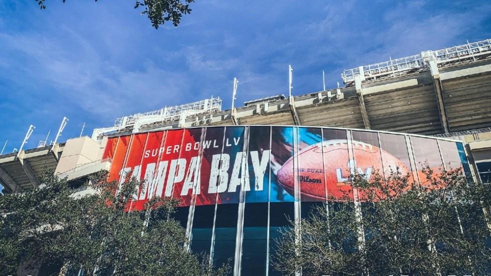 Apuestas en el Super Bowl LV caerán 37 por ciento por la pandemia - Foto de Raymond James Stadium
