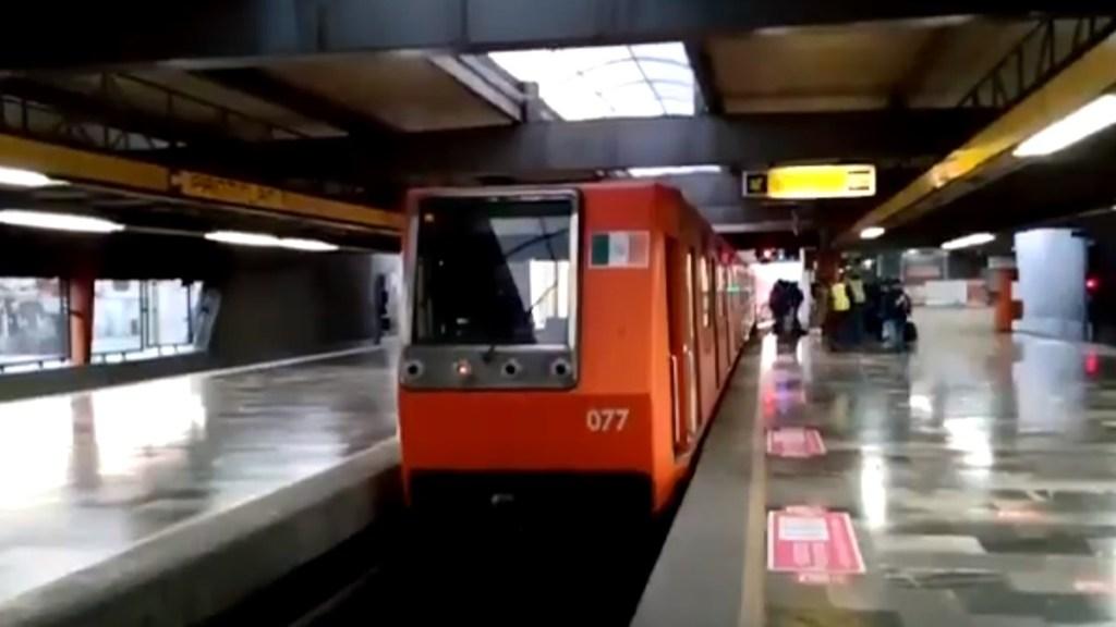 Restablece Metro servicio en Líneas 4, 5 y 6; avance de trenes es lento - Reanudación del servicio en líneas 4, 5 y 6 del Metro. Captura de pantalla