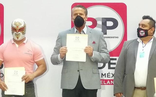 Se registra Alfredo Adame como precandidato a diputado federal por RSP - Registro como precandidatos por RSP de Alfredo Adame y Carístico. Foto de  @AlfredoAdameProgresista