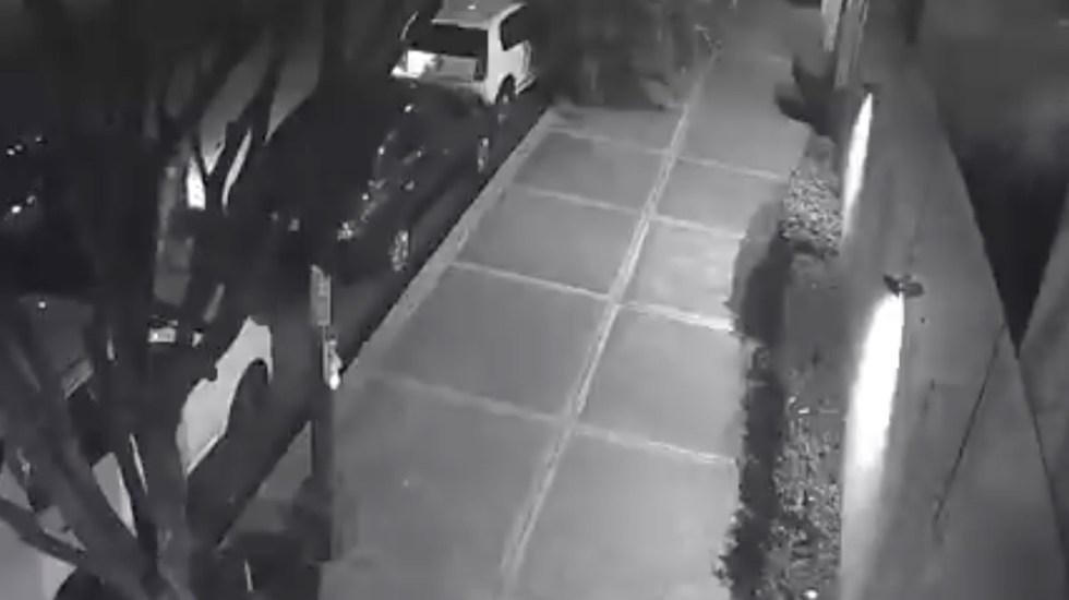 #Video Desmiente García Harfuch que policías robaran computadora de vehículo en la Benito Juárez - Captura de pantalla