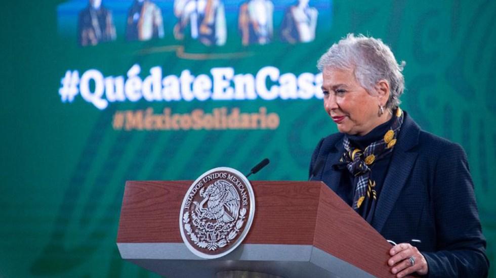 Olga Sánchez Cordero da negativo en segunda prueba de COVID-19 - Olga Sánchez Cordero. Foto de Gobierno de México