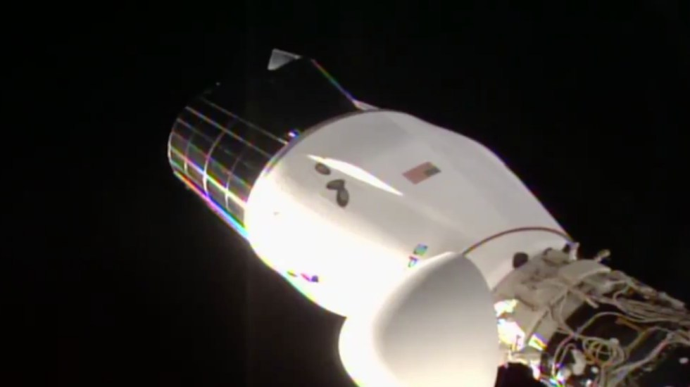 SpaceX aplaza el retorno a la Tierra de la cápsula de cargo Dragon - Foto de NASA