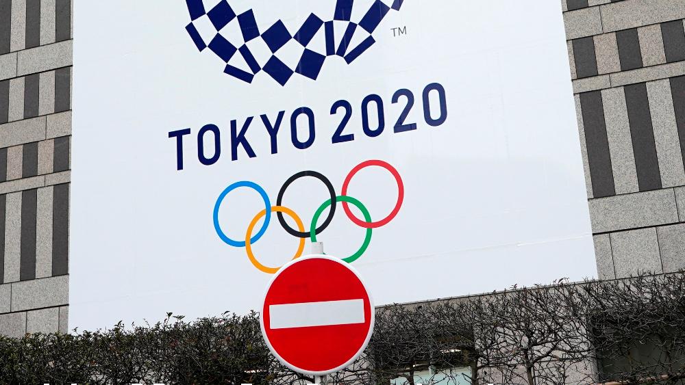 Juegos Olímpicos de Tokio afrontan ambiente 'enrarecido' a un año de posponerse - Anuncio de los Juegos Olímpicos en Tokio, Japón. Foto de EFE
